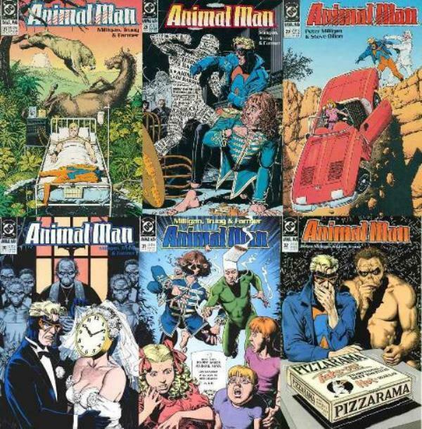 ANIMAL MAN (1988- ) 27-32  'Born To Be Wild'