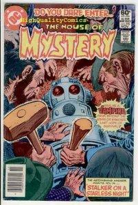 HOUSE of MYSTERY #298, Vampire, Alien, Horror, NM-