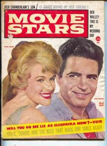 Movie Stars-Vince Edwards-Connie Stevens-Liz Taylor-Shirley Maclaine-July-1962