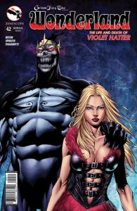 GRIMM FAIRY TALES , WONDERLAND #42 A, VF, Alice, 2015, more GFT in our store