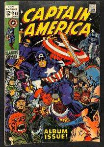 Captain America #112 GD/VG 3.0