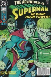 Adventures of Superman (1987 series) #473, NM- (Stock photo)
