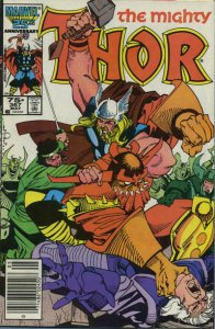 Thor #367 (Newsstand) FN; Marvel | save on shipping - details inside