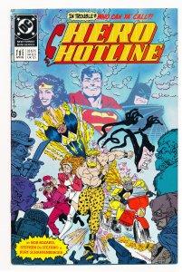 Hero Hotline (1989 DC) #1 NM