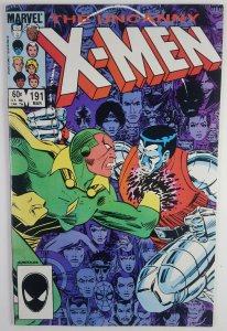 The Uncanny X-Men #191 - Nimrod (Key First Appearance) - VG - Marvel '85