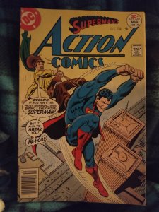 Action Comics Superman #469 in NM condition