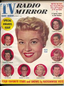 TV Radio Mirror-Patti Page-Red Skelton-Dinah Shore-Pat Boone-May-1958