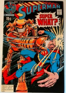 Superman #231 DC 1970 VF+ Bronze Age 1st Printing Comic Book