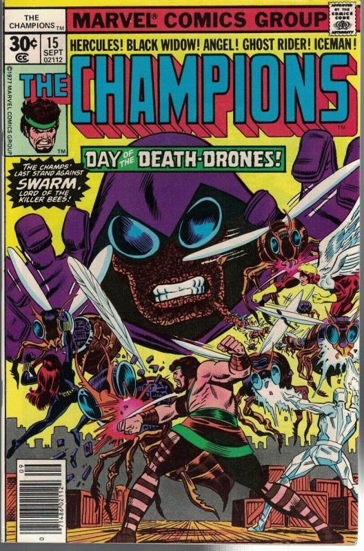 CHAMPIONS 15 VF Sept. 1977