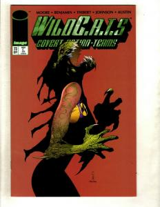 12 Wildcats Image Comics # 23 24 25 26 27 28 29 32 33 34 35 36 RP3