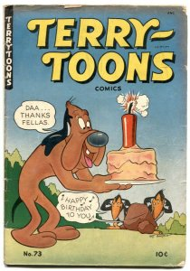 Terry-Toons #73 1949- Mighty Mouse- Heckle & Jeckle VG-