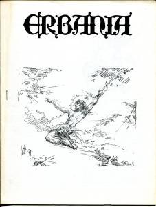Erbania #48 1981 -Edgar Rice Burroughs-Tarzan-Roy Krenkel-info-pix- FN/VF