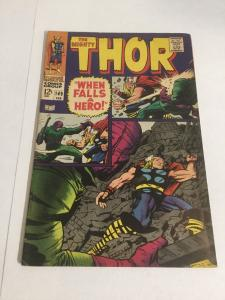 Thor 149 Vg Very Good 4.0 Water Spots Marvel Comics Silver Age