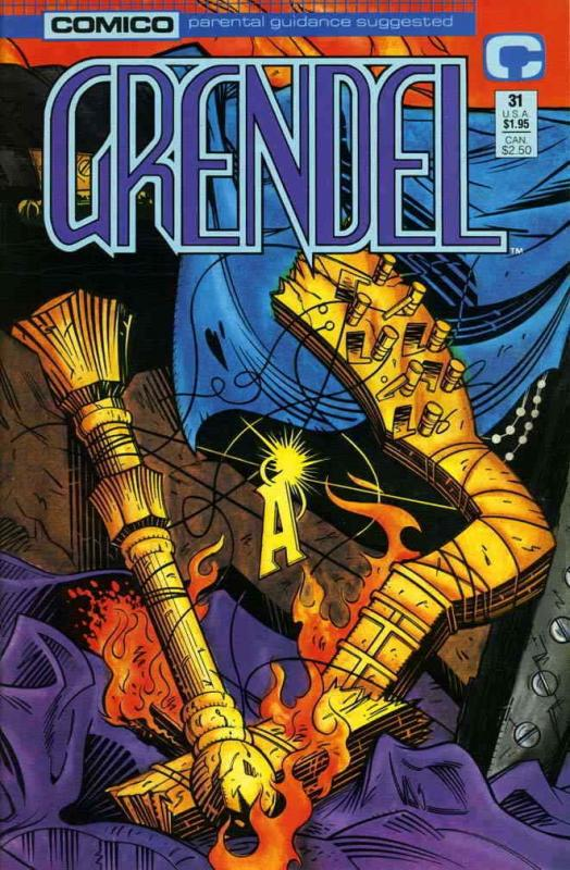 Grendel (2nd Series) #31 VF/NM; COMICO | save on shipping - details inside