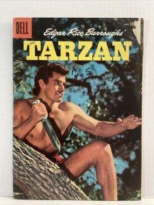 Edgar Rice Burrough's Tarzan #80 1956 Dell