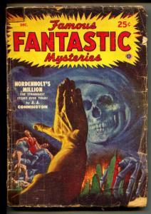 Famous Fantastic Mysteries-Pulp-12/1948-J.J. Connington-Edward S. Sullivan