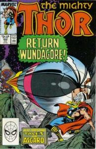 Thor (1966 series) #406, VF+ (Stock photo)