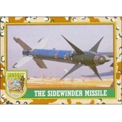 1991 Topps Desert Storm THE SIDEWINDER MISSLE #49
