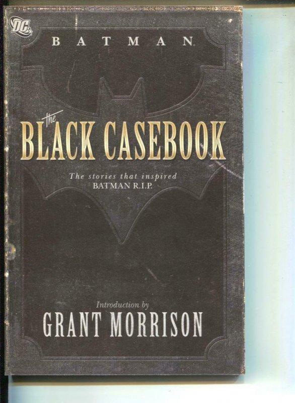 Batman: The Black Casebook-Bill Finger-TPB-trade