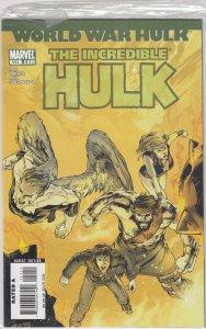 Incredible Hulk #111 (2007) WORLD WAR HULK