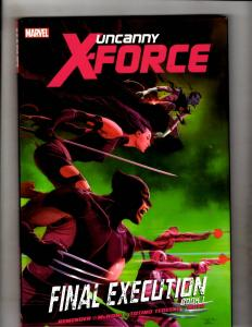 FINAL EXECUTION BOOK 1 Uncanny XForce Marvel Comics HARDCOVER Graphic Novel J335