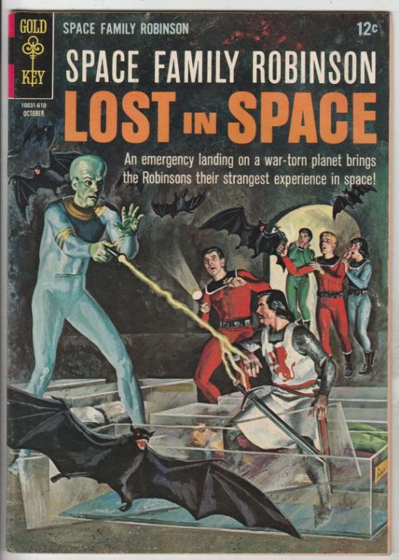 Space Family Robinson, Lost in Space #18 (Apr-67) FN/VF Mid-High-Grade Will R...