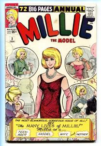 Millie The Model Annual #3 comic book 1964-Marvel-pin-ups-paper dolls