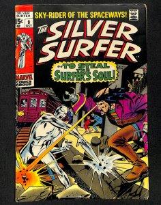 Silver Surfer #9 VG- 3.5