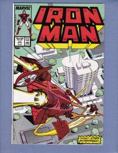 Iron Man #217 NM- Marvel 1987