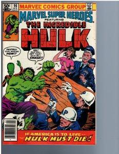 Marvel Super-Heroes #96 (1981)