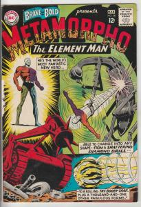 Brave and the Bold, The #58 (Mar-65) FN/VF Mid-High-Grade Metamorpho
