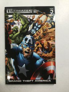 The Ulimates 2 Grand Theft America Volume 2 Tpb Softcover Sc Near Mint Nm Marvel
