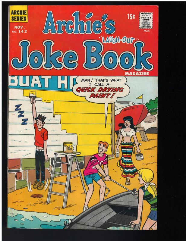 Archie's Joke Book Magazine #142 (1969)