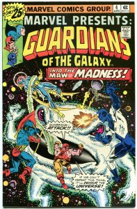 MARVEL PRESENTS #4 VF/NM Guardians of the Galaxy 1975 1976 more Bronze in store