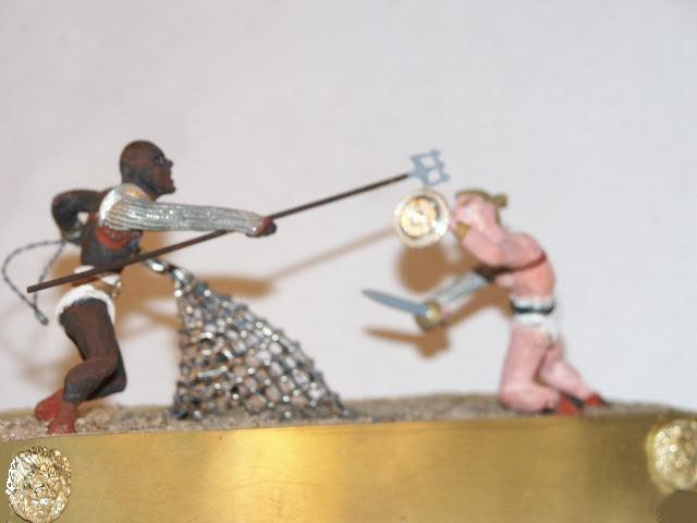 Spartacus Arena death mach 54/mm figurines