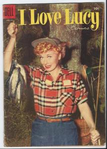 I Love Lucy #7 - Golden Age - August-Sept. 1955 (VG)