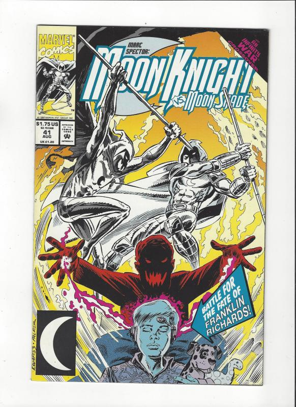 Marc Spector: Moon Knight #41 Infinity War Crossover NM