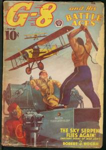 G-8 AND HIS BATTLE ACES 1939 FEB-GREAT AVIATION PULP G
