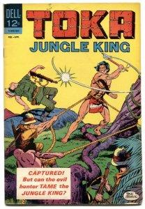 Toka Jungle King #3 1965- Dell comics VG