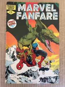Marvel Fanfare #1 (1982)