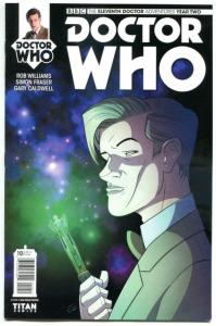 DOCTOR WHO #10 A, NM, 11th, Tardis, 2015, Titan, 1st, more DW in store, Sci-fi