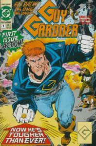 GUY GARDNER (1992) 20-44,Ann1  from grump to 'warrior'!