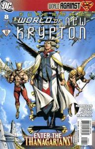 Superman: World of New Krypton #8, NM + (Stock photo)