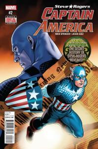 CAPTAIN AMERICA STEVE ROGERS (2016 MARVEL) #2