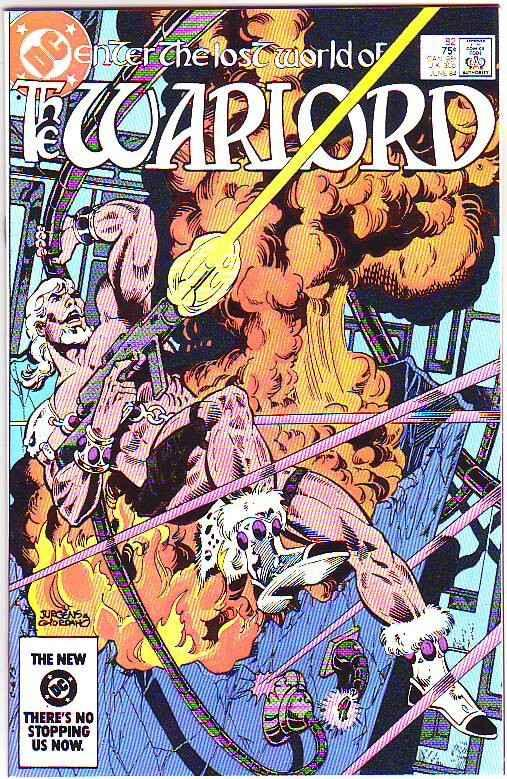 Warlord, The #82 (Jun-84) NM+ Super-High-Grade Warlord