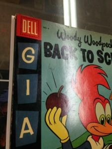 DELL Giant Woody Woodpecker's Back to School 4 VG/VG+