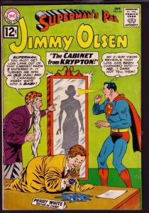 SUPERMAN'S PAL JIMMY OLSEN #66 1963-PERRY WHITE-KRYPTON VG
