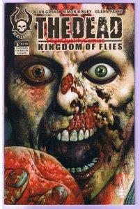 The DEAD 3, Kingdom of Flies, NM, Simon Bisley, Zombie, 2008, undead, Horror