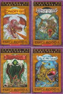 Dragons of Deltora by Emily Rodda, Lot of 1-4 Scholastic Books, FANTASY ACTION