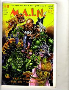 11 Comics M.A.I.N. 4 Cyber Force 2 4 1 13 Glory 15 17 19 21 22 Omaha 6 J331